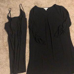 Women's Large Decree Dress- Black
